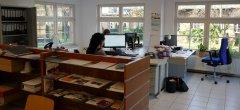 Arbeits- und Informationsbereich